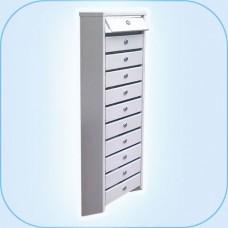 Многосекционный почтовый шкаф ГПС-111