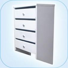 Многосекционный почтовый шкаф ПС-04