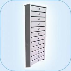 Многосекционный почтовый шкаф СПС-412