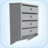 Многосекционный почтовый шкаф СПС-44