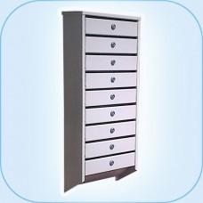 Многосекционный почтовый шкаф СПС-49