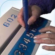Нумерация перманентным маркером